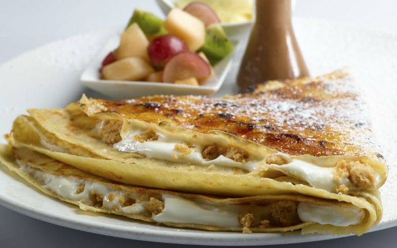 מקס ברנר קרפ עוגת גבינה ושוקולד לבן |צילום:אלירן ניסן