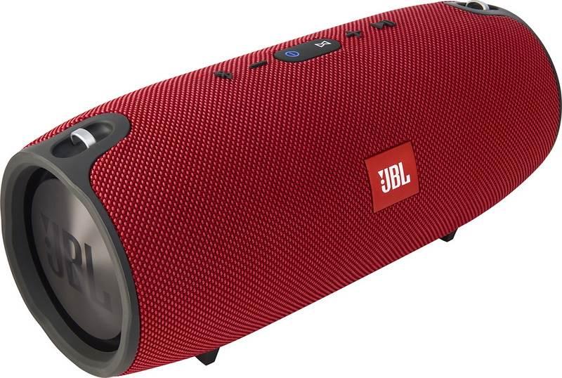 הרמקול מציג צליל באיכות בווליום גבוה עם אפשרות לחיבור רמקולים נוספים להכפלת עוצמת השמע. בתמונה: JBL Xtreme | צילום: דינמיקה סלולר