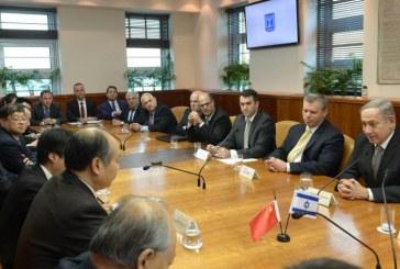 ממשלת ישראל מארחת משלחת סינית