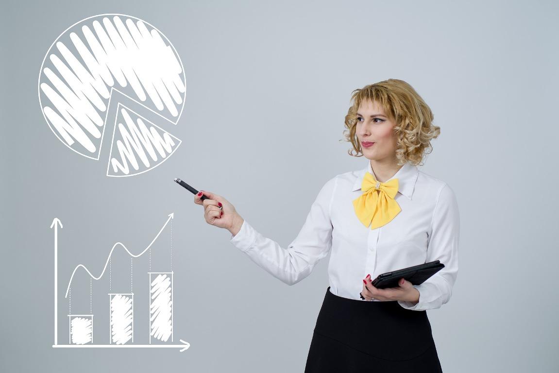 אישה במשרד | צילום: pixabay