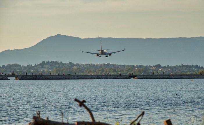 גידול בתנועת הנוסעים בטיסות בינלאומיות